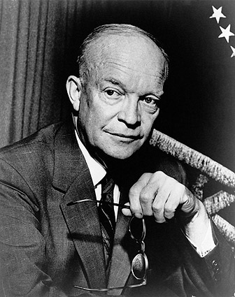Portrait of Dwight D. Eisenhower Photo Print