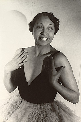 Portrait of Entertainer Josephine Baker Photo Print