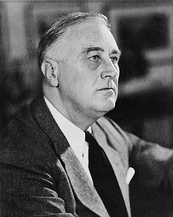 Portrait of Franklin D Roosevelt 1946 Photo Print