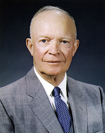 Portrait of President Dwight D Eisenhower Photo Print