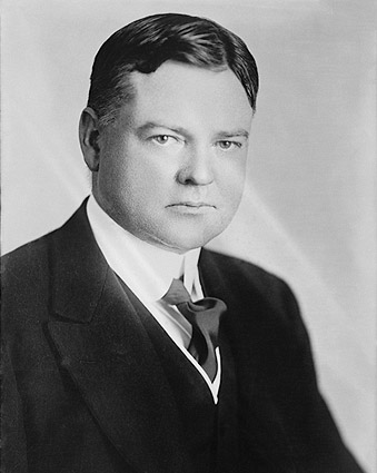 Portrait of President Herbert Hoover Photo Print