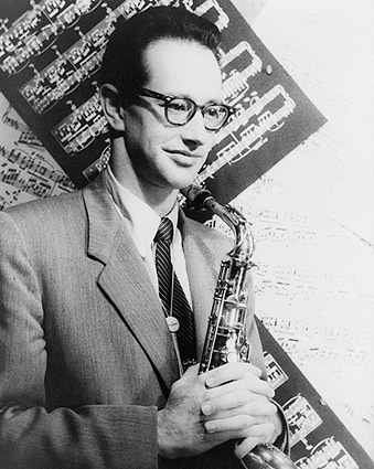 Portrait of Saxophonist Paul Desmond 1954 Photo Print