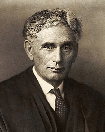 Portrait of Supreme Court Justice Louis Brandeis Photo Print
