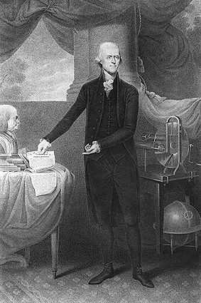 Portrait of U.S. President Thomas Jefferson  Photo Print