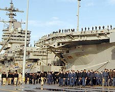 Pre-Commissioning Unit George H.W. Bush (CVN 77) Photo Print for Sale