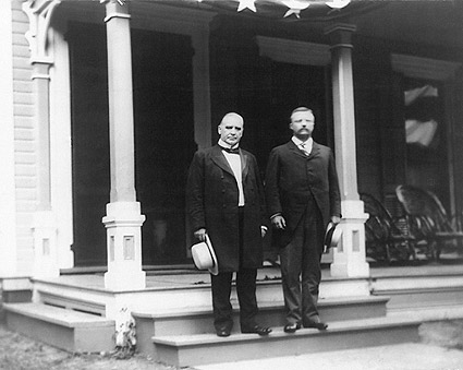 Pres. William McKinley & Teddy Roosevelt Photo Print