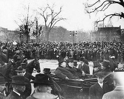 Pres. Woodrow Wilson Inauguration & Taft Photo Print