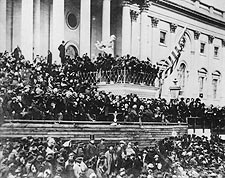 President Abraham Lincoln 2nd Inauguration Photo Print for Sale