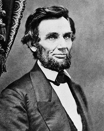 President Abraham Lincoln Portrait 1861 Photo Print