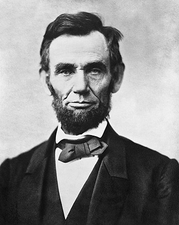 President Abraham Lincoln Portrait 1863 Photo Print