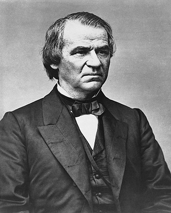 President Andrew Johnson Portrait Photo Print