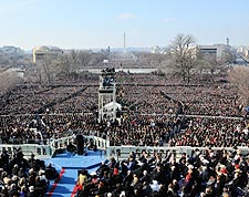 President Barack Obama Inaugural Address Photo Print for Sale