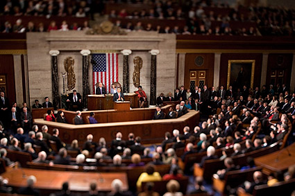 President Barack Obama State of the Union Address 2010 Photo Print