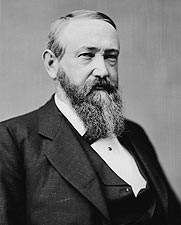 President Benjamin Harrison Brady Portrait Photo Print for Sale