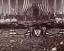 President Benjamin Harrison Oath of Office Photo Print for Sale