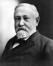 President Benjamin Harrison Portrait, 1897 Photo Print