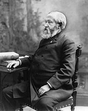 President Benjamin Harrison Seated Portrait Photo Print for Sale