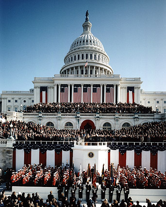 President Bill Clinton Inauguration 1993 Photo Print