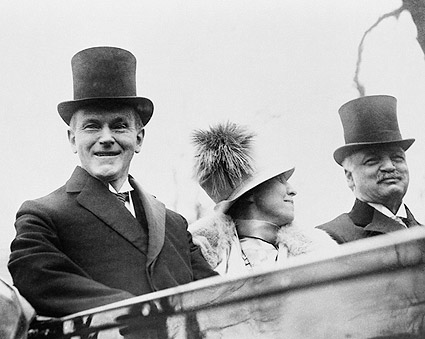 President Calvin Coolidge and First Lady Grace Photo Print