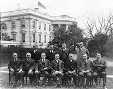 President Calvin Coolidge & Cabinet Photo Print