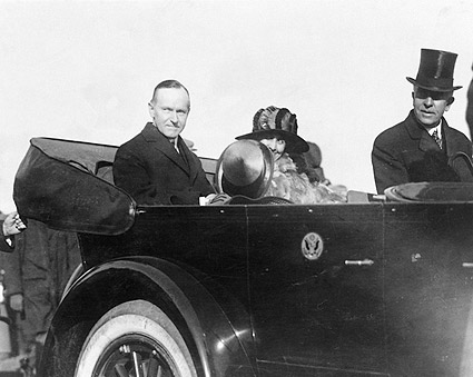 President Calvin Coolidge & First Lady 1923 Photo Print