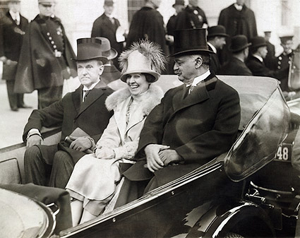 President Calvin Coolidge & Mrs. Coolidge Photo Print