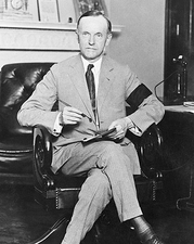 President Calvin Coolidge Portrait, 1923 Photo Print