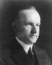 President Calvin Coolidge Portrait Photo Print