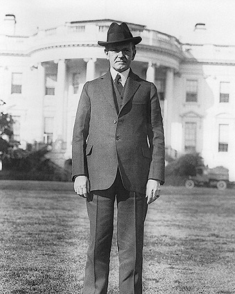 President Calvin Coolidge White House Lawn Photo Print