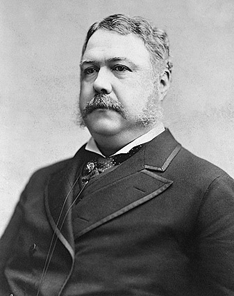 President Chester A. Arthur Portrait Photo Print