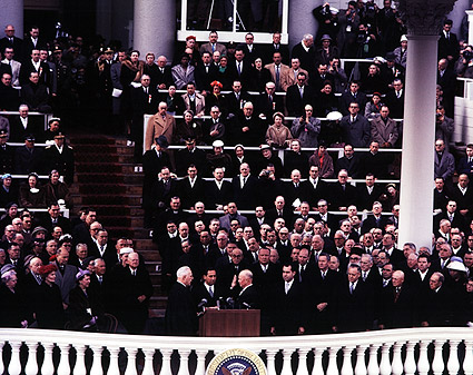 President Dwight D. Eisenhower Inauguration Photo Print