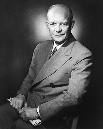 President Dwight D. Eisenhower Portrait Photo Print