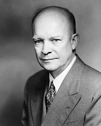 President Dwight Eisenhower Portrait Photo Print