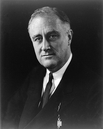 President Franklin D Roosevelt Portrait Photo Print