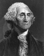 President George Washington Engraving Print Photo Print