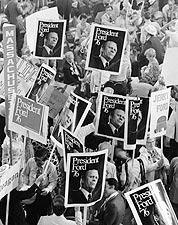President Gerald Ford Republican Convention Photo Print for Sale