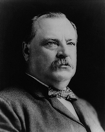 President Grover Cleveland Portrait Photo Print