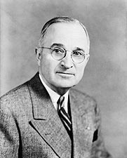 33rd U.S. President Harry S. Truman Photos