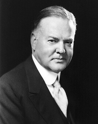 President Herbert Hoover Portrait Photo Print