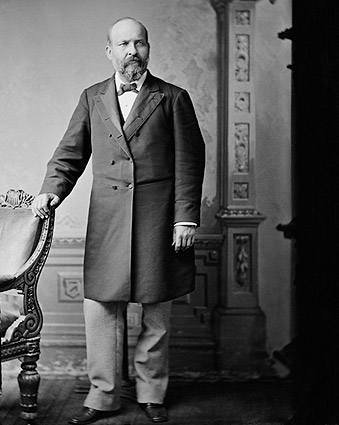 President James A Garfield Brady Portrait Photo Print