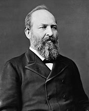President James Garfield Brady Portrait Photo Print for Sale