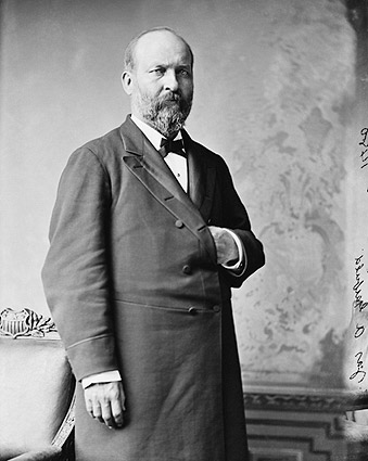 President James Garfield Portrait Photo Print