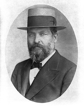 President James Garfield Portrait w/ Hat Photo Print