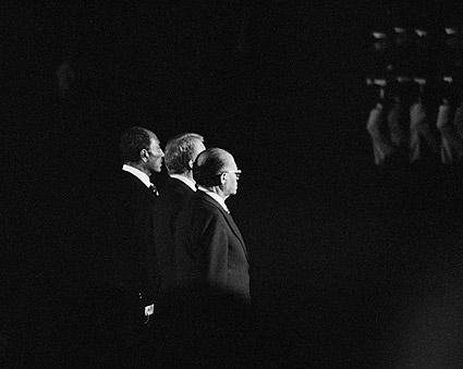 President Jimmy Carter, Sadat & PM Begin Photo Print