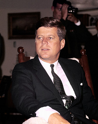 President John F. Kennedy JFK Candid Photo Print