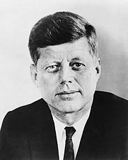 President John F. Kennedy Official Portrait Photo Print for Sale