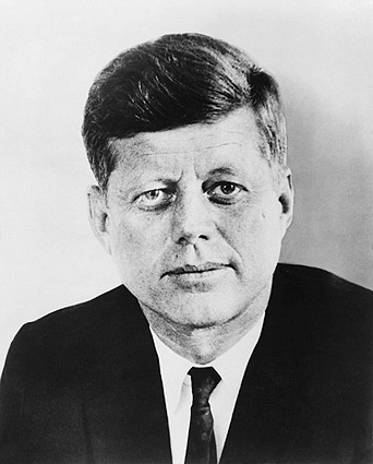 President John F. Kennedy Official Portrait Photo Print