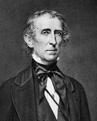 President John Tyler Portrait Photo Print