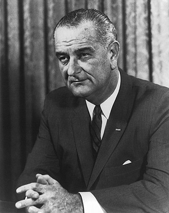 President Lyndon B. Johnson Portrait 1964 Photo Print