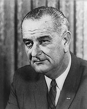 President Lyndon Johnson Official Portrait Photo Print for Sale